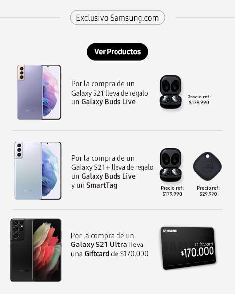 Galaxy s21 más regalos