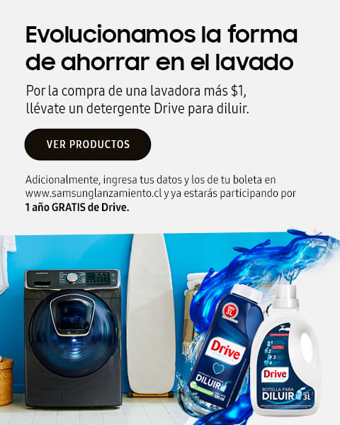 Lavadoras - Drive