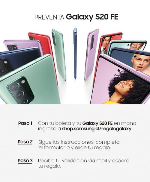Regalo Galaxy S20 FE